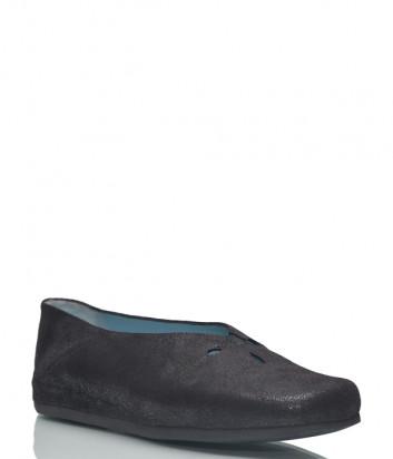 Кожаные туфли Thierry Rabotin 7052 черные