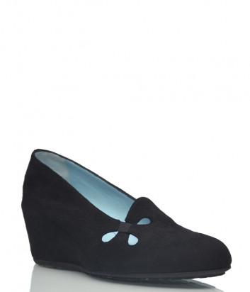 Замшевые туфли Thierry Rabotin 2016 черные