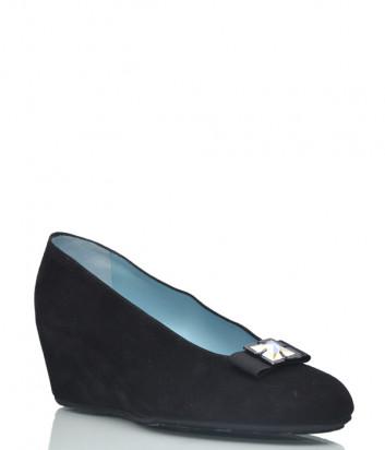Замшевые туфли Thierry Rabotin 2026 черные