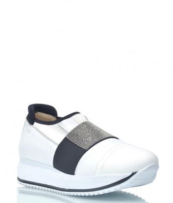Кожаные кроссовки DiGiada 1230 белые