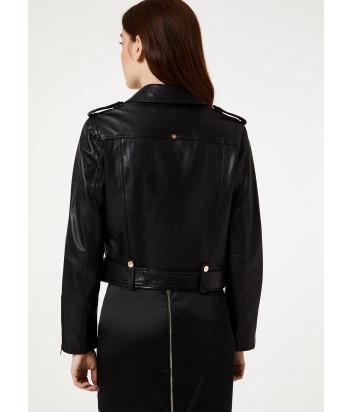 Кожаная куртка Liu Jo PA0055P0346 черная