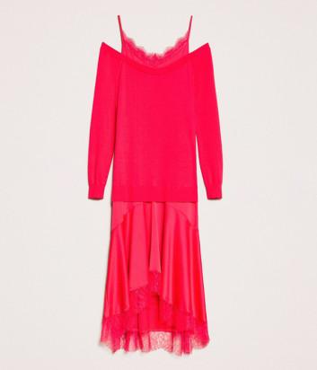 Платье TWIN-SET 201TP3070 цвета фуксии