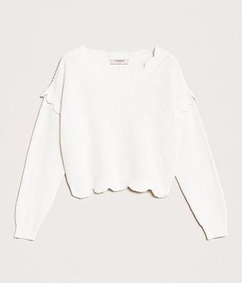 Пуловер TWIN-SET 201TP3021 белый