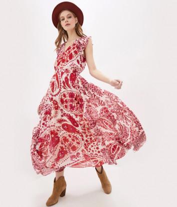 Платье TWIN-SET 201TP2534 с узором пейсли