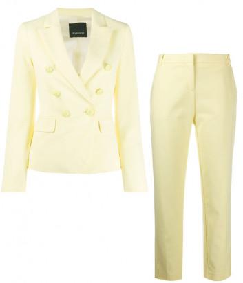 Брючный костюм PINKO 1G14T желтый