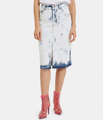 Джинсовая юбка ICE PLAY C10160256 сине-голубая
