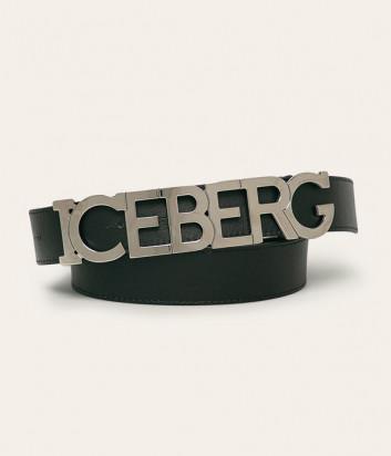 Кожаный ремень ICEBERG 66016911 черный