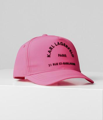 Бейсболка KARL LAGERFELD 201W3419 розовая