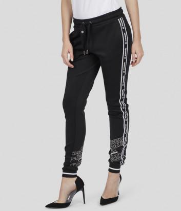Спортивные брюки Sportalm 939829778 черные с надписями