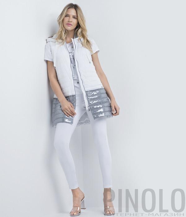 Стрейчевые джинсы AIRFIELD JPL-150 с эффектом пуш-ап белые