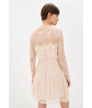 Кружевное платье Liu Jo PA0134J1845 цвета пудры