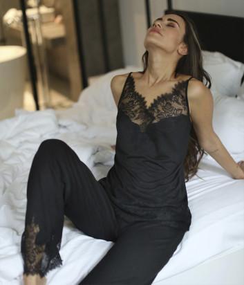 Пижама Suavite Габриэла черная