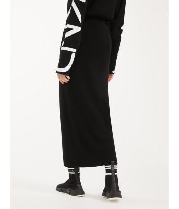 Трикотажная юбка WEEKEND Max Mara SACCO WE53010107 черная