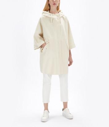 Пальто с капюшоном WEEKEND Max Mara Cera WE50110607 белое