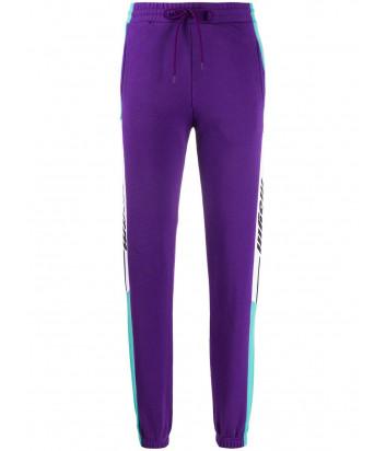 Спортивные штаны MSGM 2841MDP65 бирюзово-фиолетовые