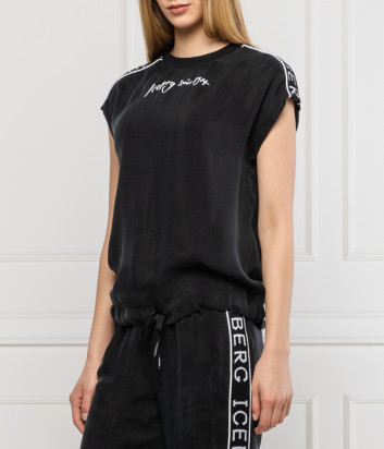 Спортивная блуза ICEBERG F0216305 черная