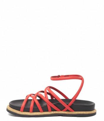 Кожаные сандалии VIC MATIE 8638 красные