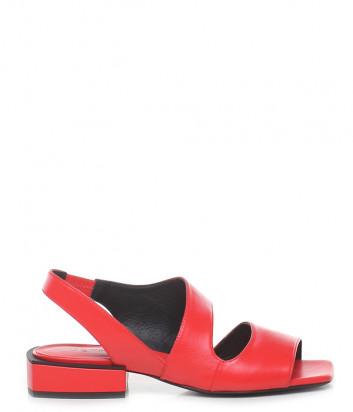 Кожаные сандалии VIC MATIE 8726 красные