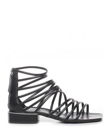 Кожаные сандалии VIC MATIE 101-109 черные