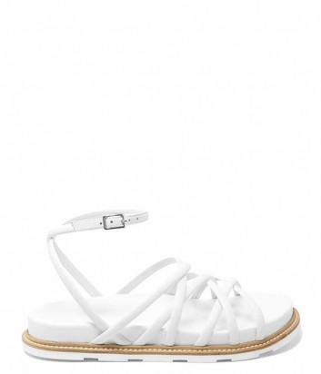 Кожаные сандалии VIC MATIE 102 белые