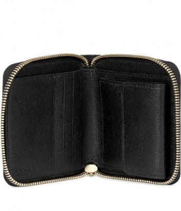 Кожаный кошелек Furla Babylon 907856 на молнии черный