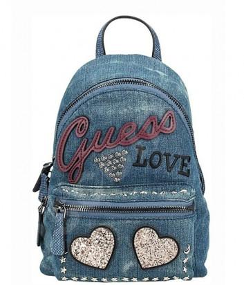 Джинсовый рюкзак Guess Urban Sport HWED7109310 с вышивкой