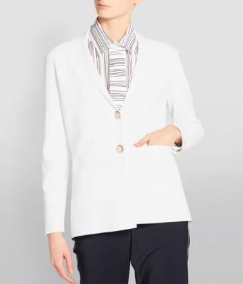 Трикотажный пиджак D.EXTERIOR 50226 белый