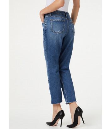 Укороченные джинсы LIU JO UA0019 голубые