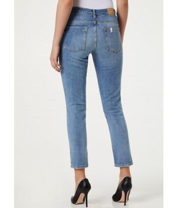 Зауженные джинсы LIU JO UA0034 голубые