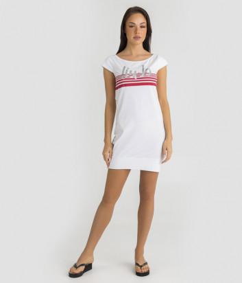 Платье LIU JO VA0069J5003 белое с логотипом