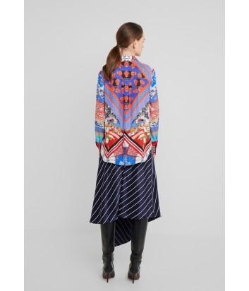 Рубашка PINKO 1B14GR с ярким цветным принтом