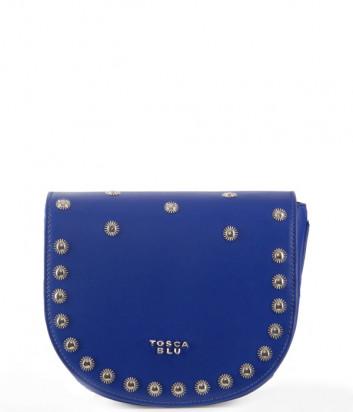 Сумка через плечо TOSCA BLU Garofano TS2034B63 синяя с декором