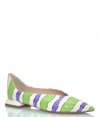 Кожаные туфли H'ESTIA DI VENEZIA 1677 цветные