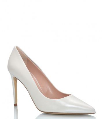 Кожаные туфли NINALILOU 301515 белые