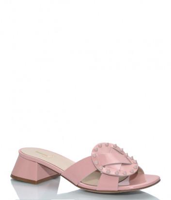 Лаковые босоножки JEANNOT 56057 розовые