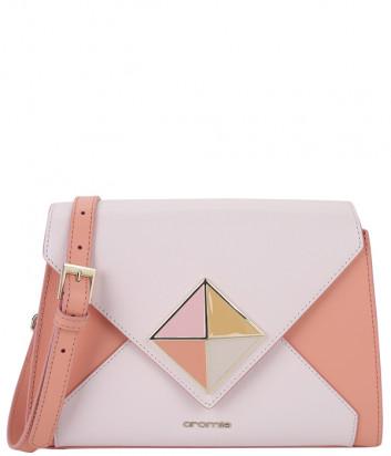 Кожаная сумка CROMIA Coctail 1044556 розовая