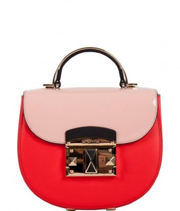 Кожаная сумка CROMIA It Colored 1404520 красная