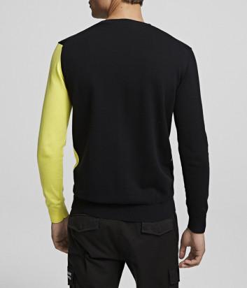 Свитер KARL LAGERFELD 655012 черно-желтый