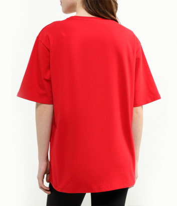 Красная футболка ICE PLAY U2MF083 с логотипом