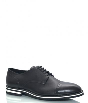 Кожаные туфли GIAMPIERO NICOLA 41305 черные