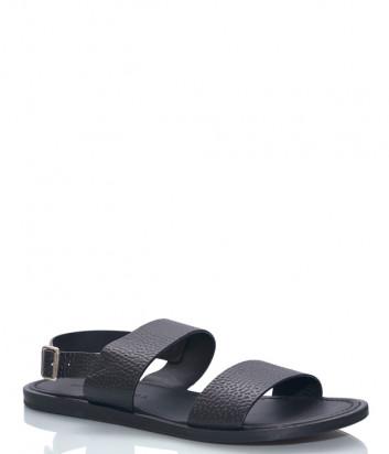 Кожаные сандалии GIAMPIERO NICOLA 5550 черные