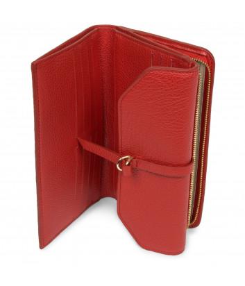 Кожаное портмоне LANCASTER DUNE 129-16 красное