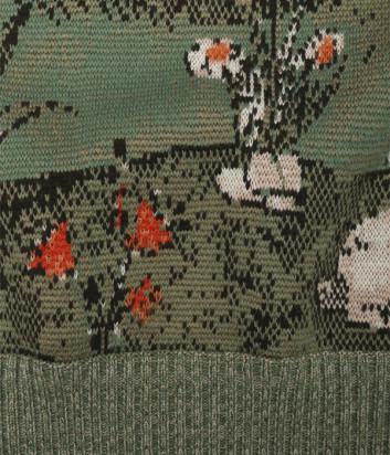 Джемпер из шерсти VIVETTA A0157019 с узором