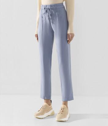 Легкие брюки D.EXTERIOR 50597 нежно-голубые