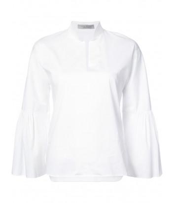Белая рубашка D.EXTERIOR с расклешенными рукавами