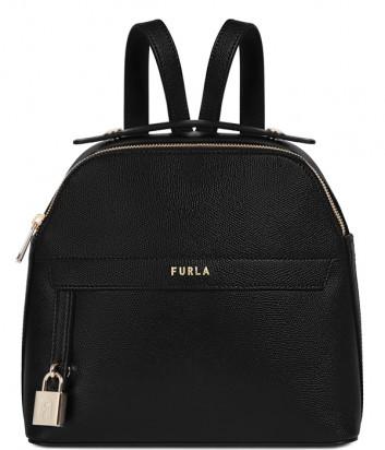 Кожаный рюкзак FURLA PIPER 1057346 черный