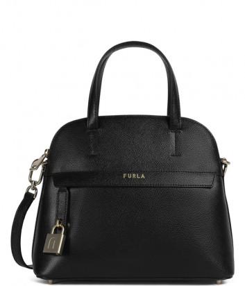 Кожаная сумка FURLA PIPER S 1057361 черная