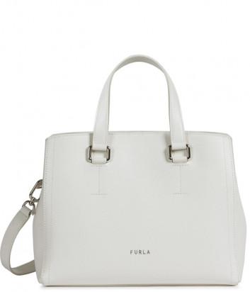 Кожаная сумка FURLA NEXT 1060287 белая