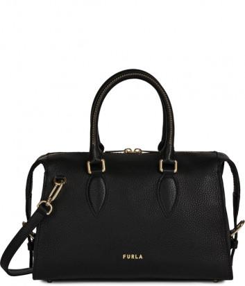 Кожаная сумка FURLA ZONE 1056516 черная