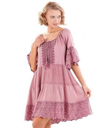 Платье ICONIQUE IC20-134 розовое